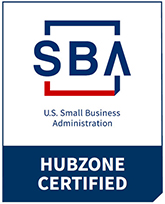 Small Business Administration HUBZONE Certified